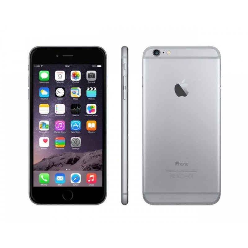 apple iphone 6 oordopjes spacegrey 16gb 4 7. Black Bedroom Furniture Sets. Home Design Ideas