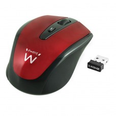 Ewent Wireless mouse red 1600dpi