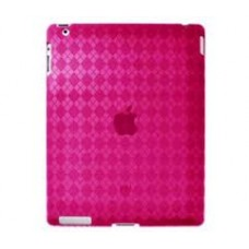 Amzer High Gloss TPU Soft Gel Skin Case voor iPad 2 / Roze