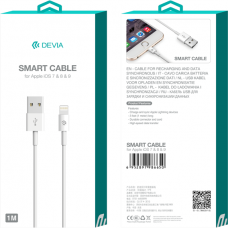 Apple iPhone / iPad Smart kabel / 1 meter / Lightning / DEVIA